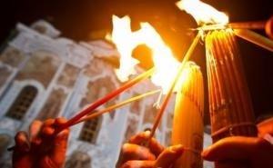 В храмы Кубани доставят из Иерусалима частицу Благодатного огня