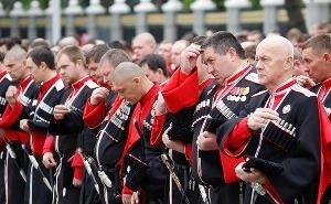 В Краснодаре прошёл парад с участием более 7 тысяч казаков