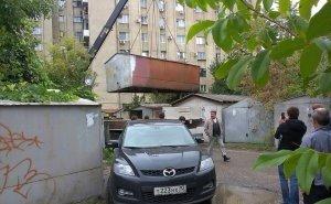 В Краснодаре после демонтажа самовольных гаражей работники должны будут убирать за собой