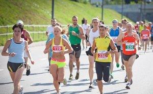 Легкоатлетический забег в Краснодаре собрал 5,4 тыс. участников