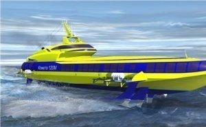 Между Сочи и Ялтой хотят запустить «крылатые» морские суда