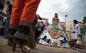 На «Ночи музеев» вызвали повышенный интерес «Картинки из мусорной корзинки»