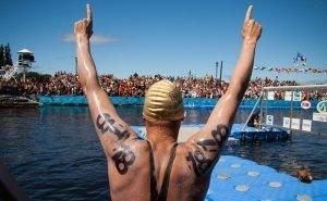 Сочи впервые принял этап международных соревнований Oceanman