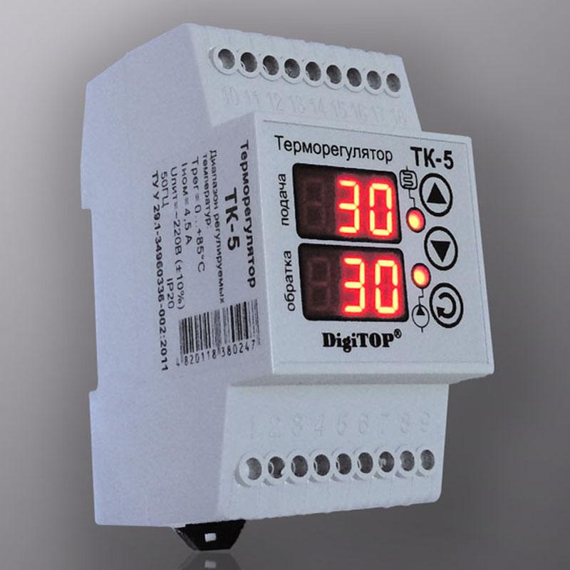 Предложение рынка терморегуляторов