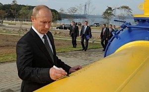 Президент России лично проконтролировал в Анапе стыковку «Турецкого потока»