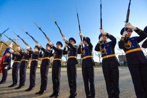 Краснодарское президентское кадетское училище отметило 5-летие первым выпуском