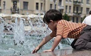 За купание в фонтанах в Краснодаре будут штрафовать
