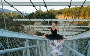 Высокогорный урок балета в Сочи достоин Книги рекордов Гиннесса