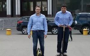 Сегвеи и гироскутеры завоёвывают Сочи и Краснодар