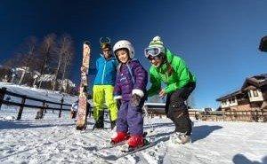 Как поставить ребенка на лыжи?