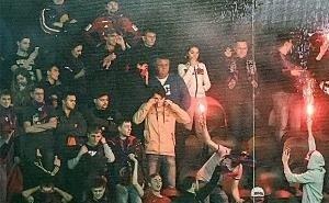 ЦСКА о взрыве петард и экране в Краснодаре: «Ничего особенного не произошло»