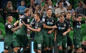 Разгромной победой над «СКА-Хабаровск» ФК «Краснодар» прервал свою серию поражений