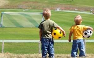 На Кубани прошли соревнования по футболу среди дошколят
