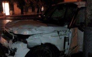 В Краснодаре произошло ДТП с участием Range Rover судьи