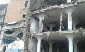 В Краснодаре обрушилось здание хладокомбината. Есть жертвы