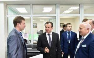 Кондратьев побывал в первом на Кубани инжиниринговом центре