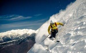 В Сочи начали тестировать горнолыжные трассы