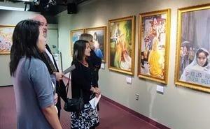 В Краснодаре открылась выставка «Женщины в искусстве»