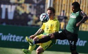 «Анжи» в игре против «Краснодара» спасло добавленное время