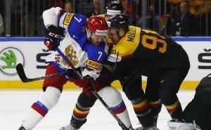 Германия обыграла в Сочи сборную России по хоккею