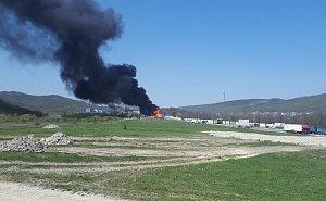 Стали известны подробности аварии на АЗС, в результате которой она загорелась