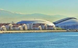 Море постепенно «отбирает» у Сочи олимпийские объекты