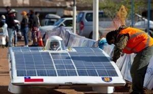 В Сочи представили первый российский солнцемобиль