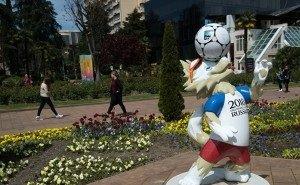Футбольное украшение Сочи решили оставить и после завершения Чемпионата