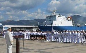 Митингом и парадом кораблей отпраздновал Новороссийск День ВМФ