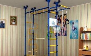 Шведская стенка как мини спортзал для детей в домашних условиях