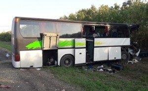 На Ставрополье попал в аварию автобус «Тбилиси-Краснодар». Погибли люди
