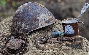 Школьники из поисковых отрядов обнаружили на Кубани останки шести советских солдат