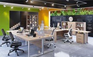 Столы для офиса из коллекции Омега