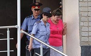 Поругавшись с сокамерницами в день освобождения, Надежда Цапок уехала из колонии на такси