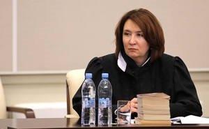 «Золотую» судью Хахалеву понизили в должности