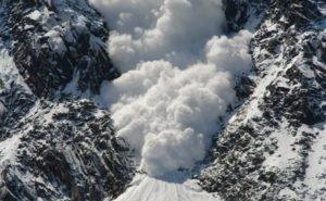 В горах Сочи прогнозируют сход лавин