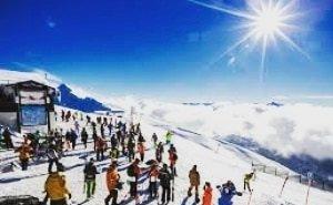 Красная Поляна ожидает зимой 1,3 млн туристов
