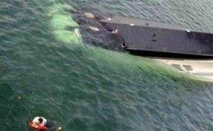 В Геленджике ночью затонула яхта