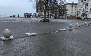 С набережной Новороссийска пропало 9 каменных шаров