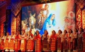 В Краснодаре с рождественскими концертами выступает Кубанский казачий хор