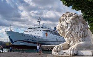 Круизный лайнер «Князь Владимир» с 12 мая выходит в первый рейс
