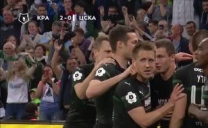 «Краснодар» празднует победу над ЦСКА
