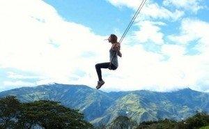 В горах Сочи появились «крылатые качели»