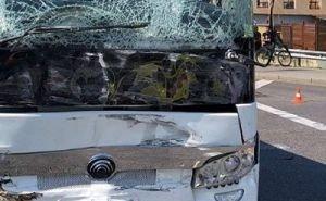 В ДТП с рейсовым автобусом на Кубани пострадало 17 человек