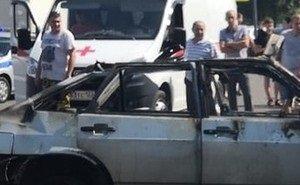 4 человека, включая детей, пострадали при взрыве машины на Кубани