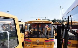 «Кладбище» школьных автобусов в Краснодаре... переехало