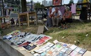 Туристы в шоке от «блошиного» рынка в Сочи
