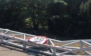Габаритные ограничения на Яблоновском мосту продержались всего пару часов