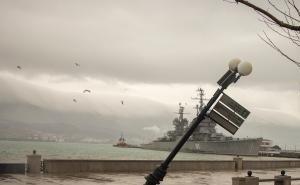 Из-за урагана в Новороссийске введён чрезвычайный режим