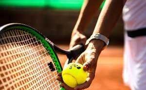 На «Фиште» началось строительство теннисных кортов